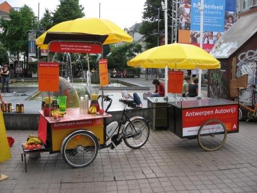 Geen opendeurdag maar OpenMeirdag bij Autovrij Antwerpen!