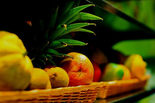 Appel - banaan - mango Smoothie