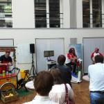 De Sappentrapper op een gezonde dag van de Vlaamse gemeenschap!